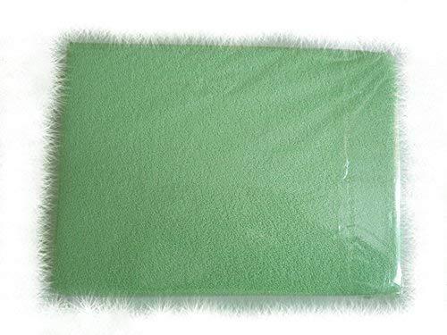 blueberryshop Frottee Spannbetttuch für Kinderbett/Babybett Bett, 140cm Länge x 70cm Breite, Pale Grün