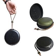 Meijunter PU & EVA Dur Étui Housse Boîtier Sachet Poche Housse de protection Case Bag pour B&O PLAY by Bang & Olufsen A1 Enceinte Nomade Bluetooth (noir pour Beoplay A1)
