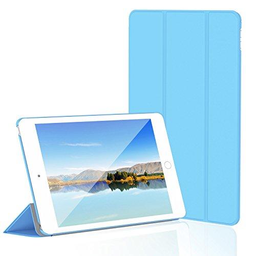 JETech Hülle für Apple iPad Mini 4, Schutzhülle mit Ständer Funktion und Auto Einschlafen/Aufwachen, Blau