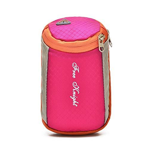 HPADR Sportarmtasche 6 Zoll Laufen Handy Arm Paket Männer Und Frauen Fitness-Tasche Läuft Gürtel Wasserdicht Eingtaschen 18cm * 10cm purpurn