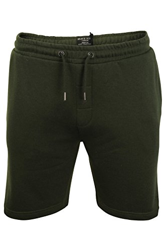 Brave Soul Mens Jogger Shorts By Tarley' Sports Training Summer Gym Pants (Mid Khaki) L