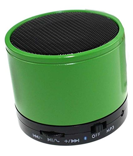 RASU Music Speaker with feature of Feet Taping Music sound ||Super Sound ||Deep Bass ||Innovative Design ||Newest Design ||new edge technology ||Rechargeable Battery Bluetooth Speaker LED Wireless Bluetooth Speaker handsfree Calling Feature FM Radio & SD Card Slot , S10 GREEN Compatible with Ambrane AK-7000  available at amazon for Rs.599