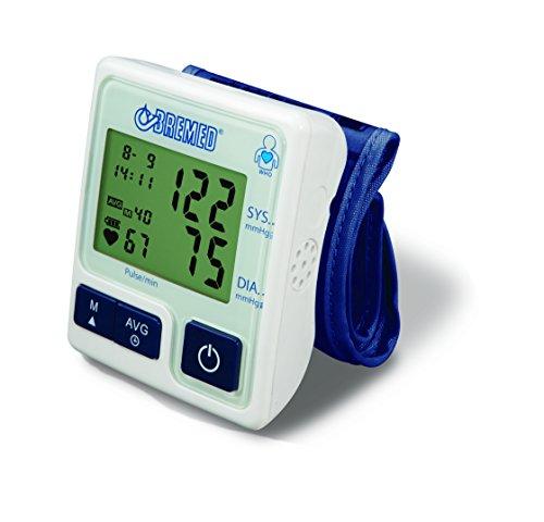 Bremed Bd 8600Messgerät Blutdruck Handgelenk vollautomatisch, Klassifizierung LED Who, Indikator Arrhythmie
