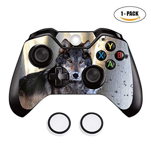 Taifond Xbox One Controller Skin für Xbox One Controller mit AbschleppDaumengriffkappen