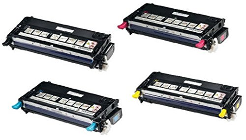 pack-4-compatibles-toner-laser-pour-dell-3110-3110cn-3115-3115cn-8000-pages