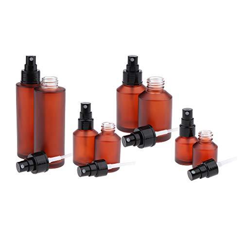 B Baosity Set de 8pcs Bouteilles Atomiseur Spray Parfum Atomiseur Pompe Vaporisateur
