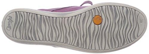 Softinos Indira Washed, Baskets Hautes Femme Violett (Lilac)