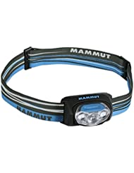 Mammut T-peak - Linterna (Headband flashlight, LED, AAA, Azul, IPX6)
