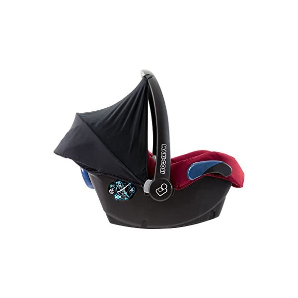 Maxi-Cosi Kinderautositz Citi Robin Red Maxi-Cosi Side protection system, guarantees optimal protection in the event of a side impact Lightweight, light weight and ergonomically shaped safety bar for use as carrying handle Practical travel system 7