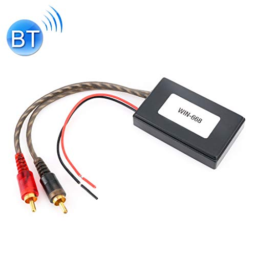LWL House Universal Auto Bluetooth Modul Adapter Radio Stereo mit 2 Cinch Kabel Adapter Durable (Bluetooth-modul Cinch)