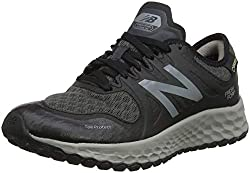 New Balance Damen Trail Kaymin Gore Tex Traillaufschuhe, Schwarz Black/Grey, 42.5 EU