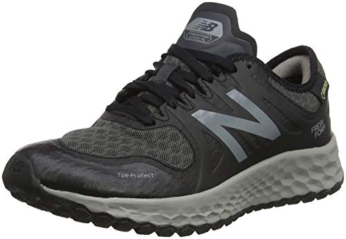 New Balance Kaymin Gore Tex, Scarpe da Trail Running Donna, Nero Black/Grey, 39 EU