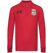 Liverpool FC Polo de Manga Larga Oficial - Para Niño