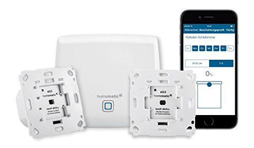 Homematic IP Smart Home Starter Set Beschattung - Intelligente Rollladensteuerung per Smartphone