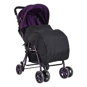Baby Decke Für Kinderwagen Und Buggy Universal Fußsack Kinderwagen Winddicht Wasserdicht Snuggle Abdeckung Für Sportwagen Und Jogger Schwarz Baby