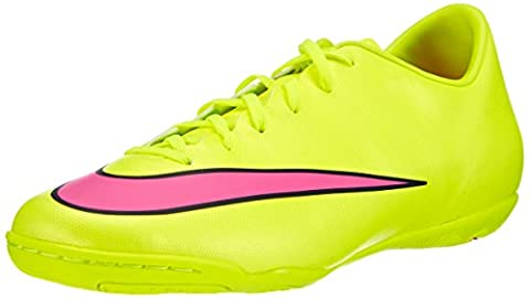Nike Mercurial Victory V Ic, Men's Football Competition Shoes, Yellow (Volt/Hyper Pink/Black 760), 10 UK (45 EU)
