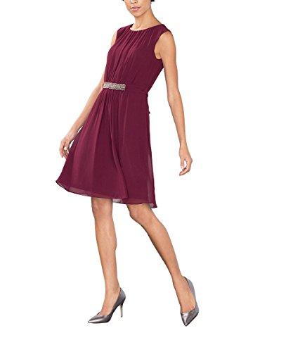 Esprit 116eo1e014, Robe Femme Rouge (bordeaux Red 600)