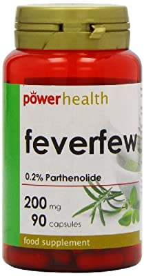 Power Health 200mg Feverfew - Pack of 90 Capsules by Power Health Products Ltd