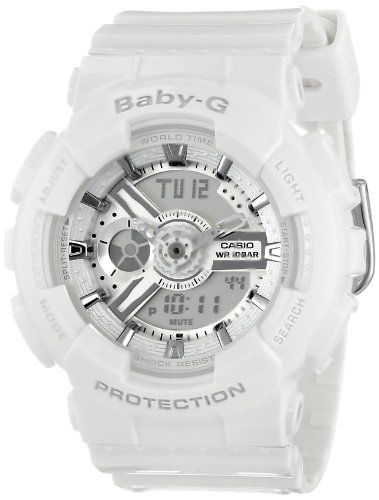 Casio BA110-7A3CR 46mm White Plastic Band & Case Women's Watch