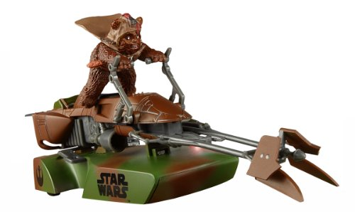 Scalextric - SCA3299 - Véhicule Miniature et Circuit - Star Wars Speeder Bike - Ewok