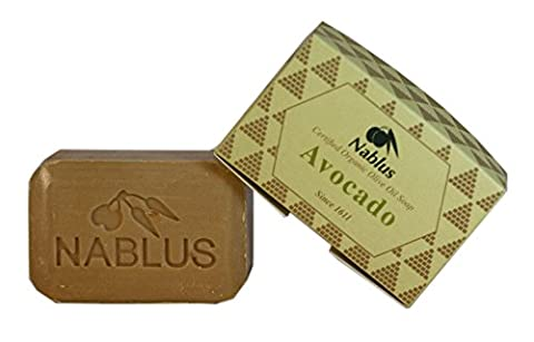 Avocado   Authentic Nablus Olive Oil Soap   Certified Organic