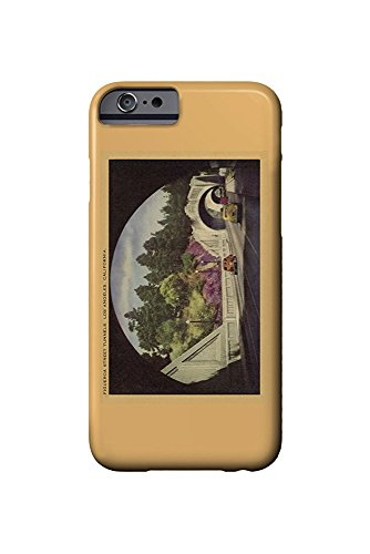 Figueroa Street Tunnels - Los Angeles, California USA c. 1952 (iPhone 6 Cell Phone Case, Slim Barely There) -