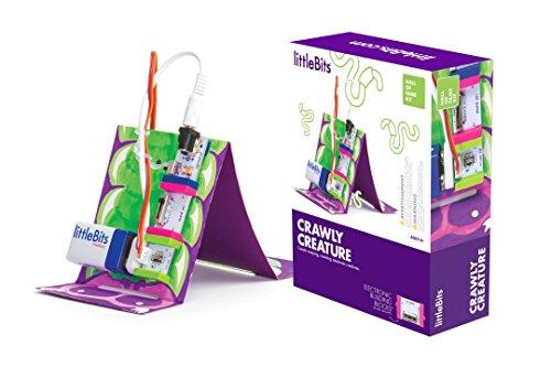 littleBits Crawly Creature - Juguetes y Kits de Ciencia para niños (Ingeniería, 8 año(s), Niño/niña,, 154 mm, 198 mm)