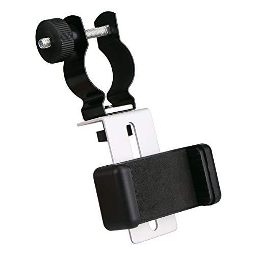 Svbony Universal Metall Teleskop Digitalkamera Smartphone Adapter für Mikroskop Binokular Spektiv iPhone 6 6Plus 5s 4s Samsung Galaxy S6 S4 S3 Note4 (Silbern-Schwarz)
