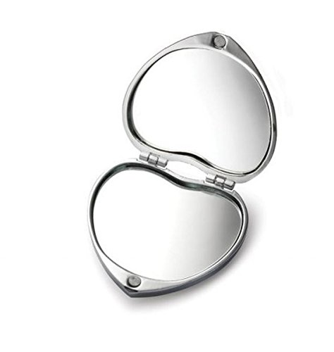 Ten specchietto da borsa cuore amore cod.el9033 cm 5,5x5,5x2h by varotto & co.