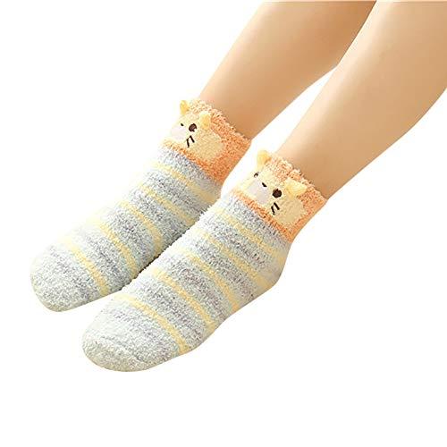 ☺Sportsocken Weihnachtssocken Unisex Hohe Socken Knöchelsocken Sneaker Socken Damen & Herren & Jungen & Mädchensocken Tiersocken Flauschige Gemütliche Fußball Socken Baumwollsocken 1 Paar