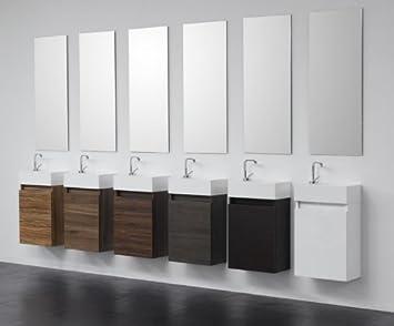Badmöbel gäste wc  Gäste-WC Badmöbel Waschbecken mit Unterschrank: Amazon.de: Küche ...