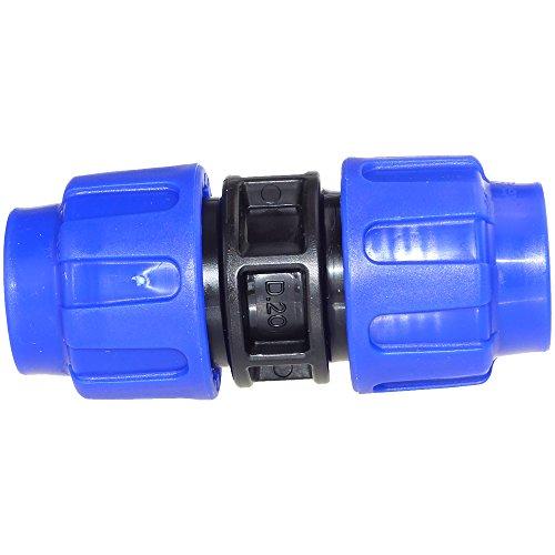 PE-Kupplung Klemmmuffe 20mm (Trinkwasser geeignet)