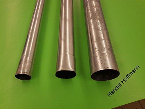 fallrohr titanzink Fallrohre Titanzink 2m Lang 60 mm +80 mm +100 mm Durchmesser 2. Wahl (60mm Durchmesser)