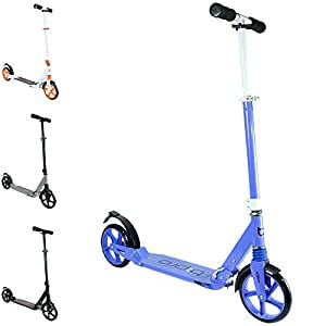 Trottinette adulte pliable à suspension bopster® b:pro - Violet