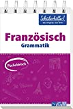 Pocketblock Französisch Grammatik: Gute Noten mit der Schülerhilfe -
