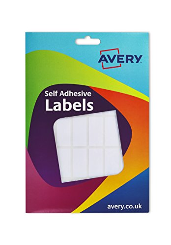 Avery Labels 18x38mm Rectangular White Ref 16-022 [816 Labels]