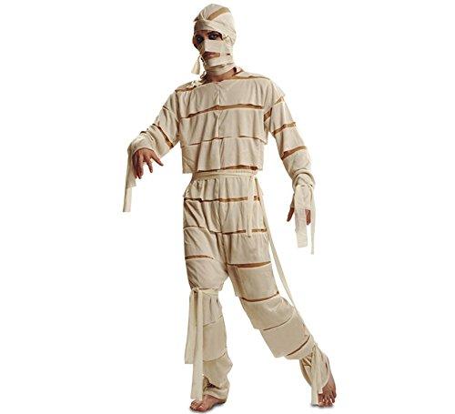 Disfrazzes Mumie Kostüm für Männer Größe M-L für Halloween (Kostüme Für Männer Mumie)