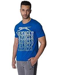 Slazenger Hommes Sport Décontracté Dessin Imprimé T-shirt À Manches Courtes