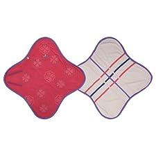 Lodger BL538 Wrapper Original Einwickeldecke und Spieldecke, crimson rot