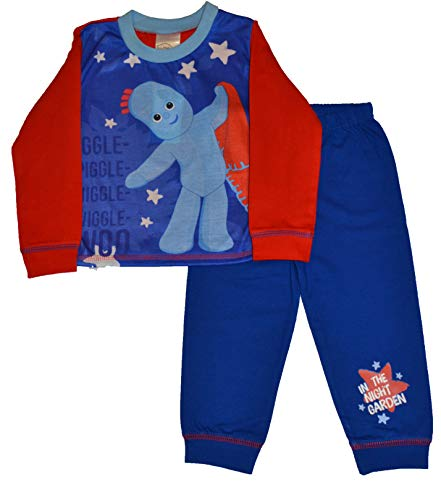 In the Night Garden Boys Iggle Piggle Pyjamas Pjs Sleepwear Ages 18 Months to 5 Years (2-3 Years)