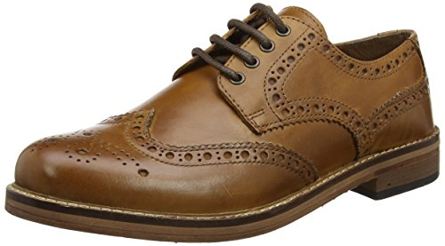 Red Tape Men's Meath Brogues, Brown (Tan), 8 UK 42 EU