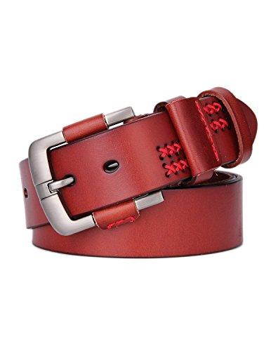 weinida-mens-full-grain-leather-vegetable-tanned-belt-handmade-38mm-15