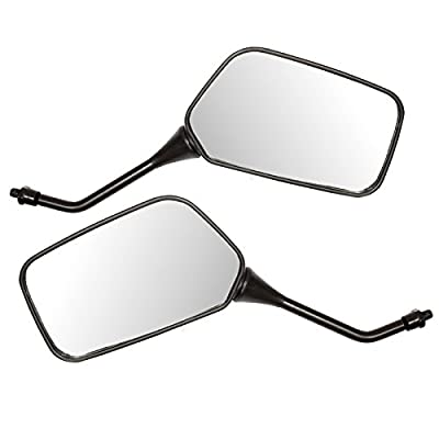 Ryde Universal 8mm Motorcycle/Scooter Mirrors - Black produced by Ryde - quick delivery from UK.