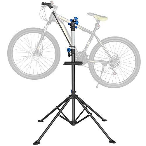 Yaheetech Fahrradmontageständer Montageständer Reparaturständer mit Stativ Profi 360°