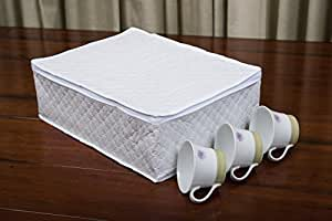 Marathon Housewares kw200006Chine de rangement Tasse/Verre/étui, en vinyle