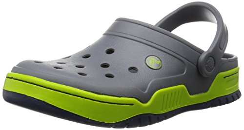 Crocs Front Court Clog Unisex Charcoal/Navy Slip On [Apparel]_14300-077-M9W11