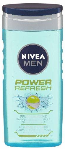 Nivea Men Nivea Men Dusche Power refresh, 250ml, 4er Pack (4 x 250 ml)