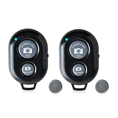 Neuftech 2pcs Bluetooth Wireless Selfie Control Remoto para iOS/iPhone/Samsung/Nexus/Xiaomi ect