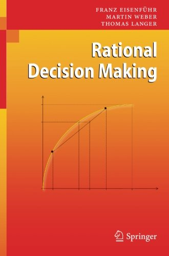 Download PDF Rational Decision Making By Franz Eisenf Hr