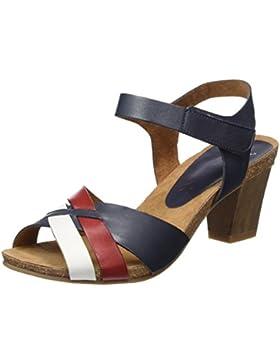 Caprice Damen 28317 Offene Sandalen mit Keilabsatz